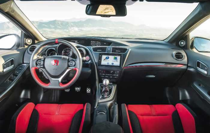 2022 Honda Civic Type R Interior